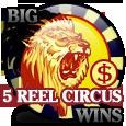 Гральний автомат 5 Reel Circus