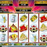 Інтерфейс ігрового автомата Aladdin's Wishes