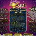 Правила гри в ігровому автоматі Aladdin's Wishes