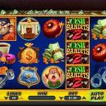 Інтерфейс ігрового автомата Cash Bandits 2