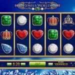 Інтерфейс ігрового автомата Jewels World