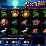 Інтерфейс ігрового автомата Mojo Rising
