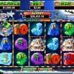 Інтерфейс ігрового автомата Rudolph's Revenge
