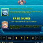 Правила гри в ігровому автоматі Dolphin's Pearl