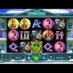Інтерфейс ігрового автомата Storm Lords