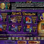 Правила гри в ігровому автоматі Aztec's Treasure