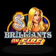 Гральний автомат Brilliants on Fire