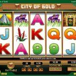Інтерфейс ігрового автомата City Of Gold