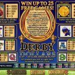 Правила гри в ігровому автоматі Derby Dollars