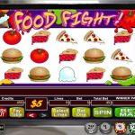 Інтерфейс ігрового автомата Food Fight