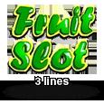 Гральний автомат Fruit Slot 3 Lines