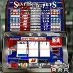 Інтерфейс ігрового автомата Sevens & Stripes
