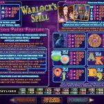 Правила гри в ігровому автоматі Warlock's Spell