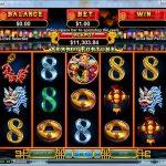 Інтерфейс ігрового автомата Year Of Fortune